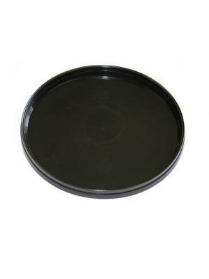ø95 mm Deksel (zwart) voor ronde plastic bakjes