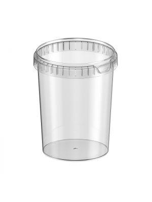 ø133 mm 1530 ml plastic bakje (TE)