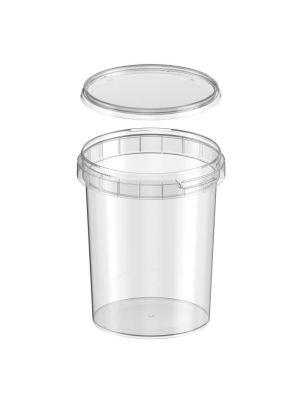 520 ml plastic bakje met garantiesluiting en deksel