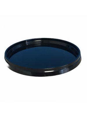 ø118 mm deksel (ZWART) voor plastic bakjes