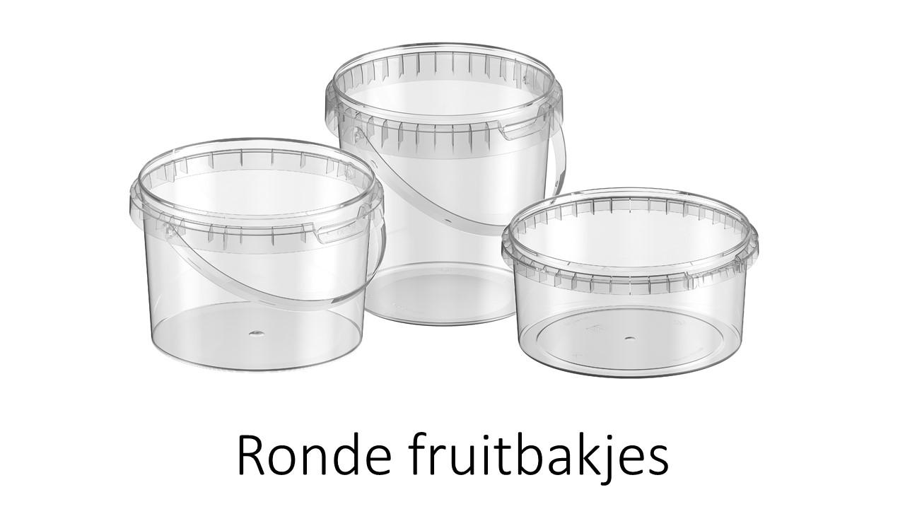 Ronde fruitbakjes