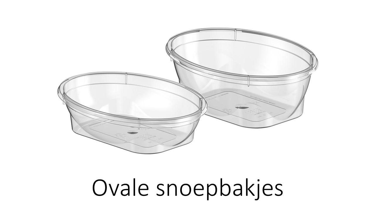 Ovale snoepbakjes